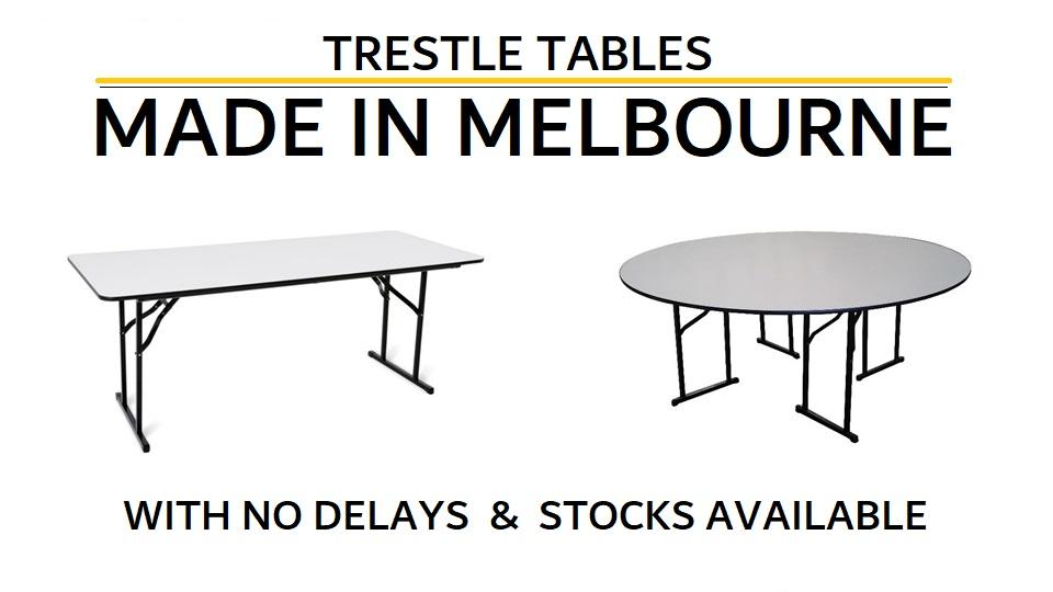 TRESTLE TABLES MADE IN MELBOURNE