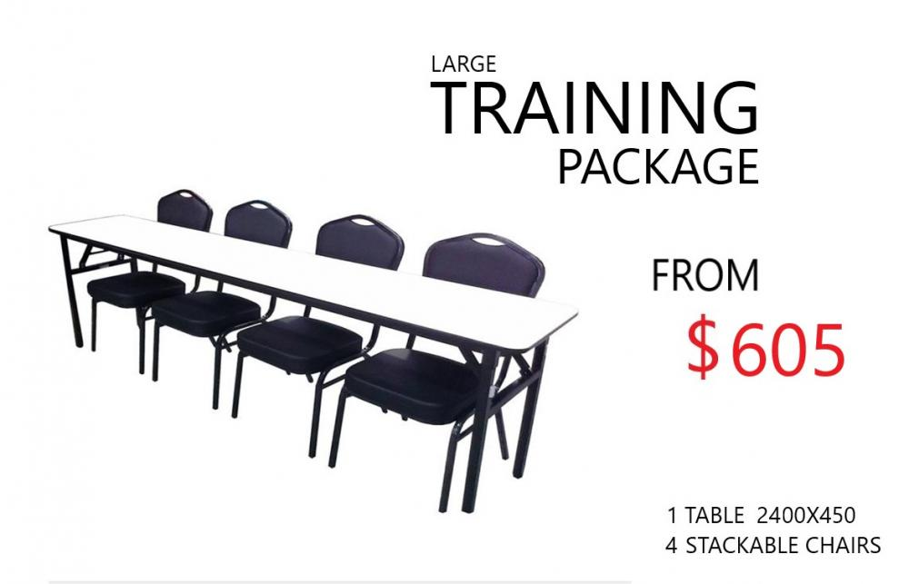 EDUCATION & TRAINING PACKAGE - LARGE