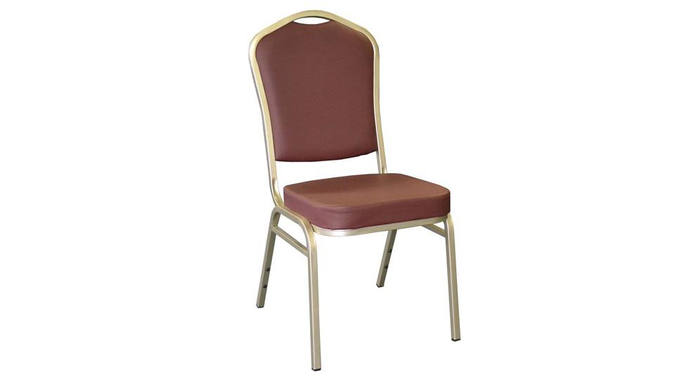 Stackable Chair - Vinyl (Burgundy)