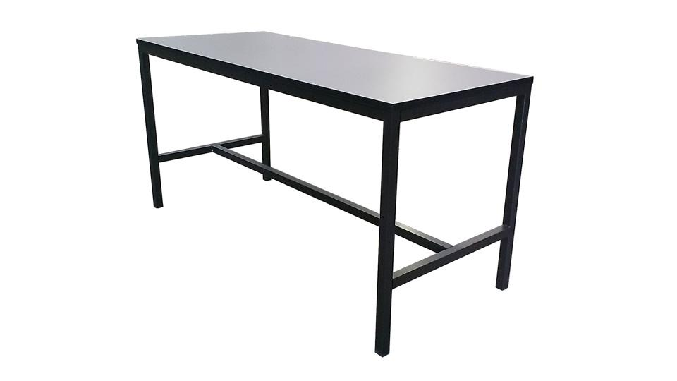 High Amp Long Bar Tables Australian Slimline Trestles