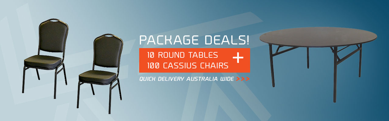 Chair & Table Packages