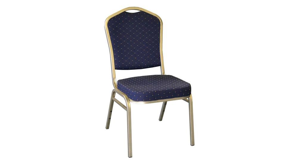Stackable Chair - Fabric (Blue)